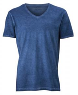 "James & Nicholson | Herren V-Neck T-Shirt ""Gipsy"" | JN 976"