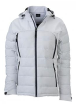 James & Nicholson | Damen Outdoor Hybrid Jacke | JN 1049