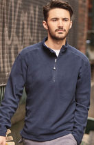 Russell | 881M | Microfleece Pullover mit 1/4 Zip