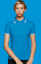 Hakro | № 205 Damen-Poloshirt Twin-Stripe