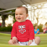 Babywelt | Babybugz | 71.0011 |  BZ11 Baby T-Shirt langarm |  Druck Wappen Nidwalden
