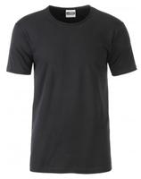 James & Nicholson | JN 8002 | Herren Bio T-Shirt mit Rollsaum
