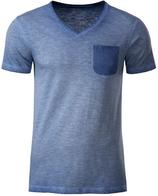 James & Nicholson | JN 8016 | Herren Vintage T-Shirt