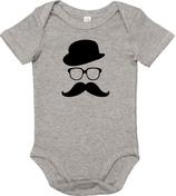 "Babywelt | Babybugz | 71.0010 |  BZ10 Baby Body kurzarm |  Druck ""Boy Icon"""
