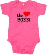 "Babywelt | Babybugz | 71.0010 |  BZ10 Baby Body kurzarm |  Druck ""The Boss"""