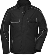 James & Nicholson   JN 882   Unisex Workwear Softshell Light Jacke -Solid-