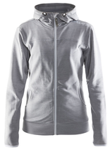 Craft | 1901693 | Leisure Full Zip Hood Damen
