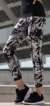 SF | SK424 | Women's reversible work-out leggings