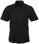 James & Nicholson | JN 687 | Oxford Bluse kurzarm
