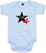 "Babywelt | Babybugz | 71.0010 |  BZ10 Baby Body kurzarm |  Druck ""Star Is Born"""