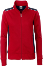 James & Nicholson | JN 869 | Damen Workwear Sweat Jacke
