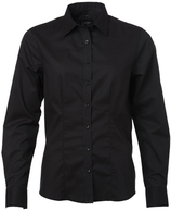 James & Nicholson | JN 685 | Oxford Bluse langarm