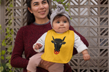 Babywelt   Larkwood   LW082    Baby Lätzchen    Druck Wappen Uri