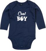 "Babywelt | Babybugz | 71.0030 |  BZ30 Baby Body langarm  |  Druck ""Cool Boy"""