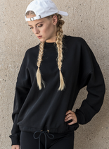 Build your Brand | BY058 | Women's oversize crew neck