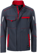 James & Nicholson | Workwear Sommer Softshell Jacke Unisex  | JN 851