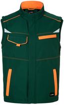 James & Nicholson | Workwear Sommer Softshell Gilet Unisex  | JN 852