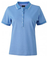 James & Nicholson | Damen Piqué Polo bicolor | JN 703