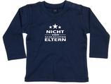 """Babywelt   Babybugz   71.0011    BZ11 Baby T-Shirt langarm    Druck """"Nicht von Schlechten Eltern"""""""