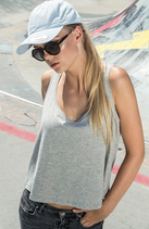 Build your Brand | BY051 | Women's oversized tank top