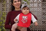 Babywelt | Babybugz | 71.0012 |  BZ12 Baby Lätzchen |  Druck Wappen Nidwalden