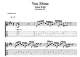 """""""You Shine"""" Noten (+TABs)"""