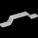 P111 404 Überbrückungsbügel Alu m. Mittelbohrung Ø 10,5mm