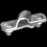 P2031 Anschlußklemme V4A rostfrei für Tiefenerder, 2tlg. Ø 10mm, fl 30mm/Ø 25mm