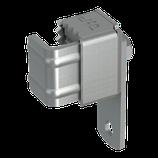 P111 385 Anschlußklemme stahl-verzinkt, Klber 19-36 mm m. Anschlußlasche, Bhrg. Ø 11 mm