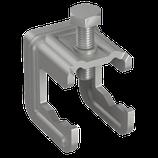 P111 423 S Verbindungsklemme ohne Bügel, Stahl/blank