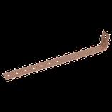 P111 210 Universal-Regenrohrschelle Cu, Ø 60-120mm m. Anschlussbohrung Ø 10,5mm/ m. Schraube