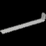 P111 212 Universal-Regenrohrschelle Alu, Ø 60-120mm m. Anschlussbohrung Ø 10,5mm /m. Schraube
