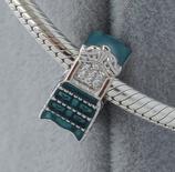 Ref.: 00111 Charm en plata925 , enamel y zircon