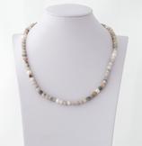 Ref.: 00207  Collar en piedras semipreciosas y perlas naturales.