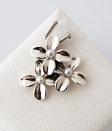 Ref.: 00187 Dije en plata925 y perlas naturales