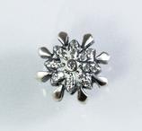 Ref.: 00388 Charms en plata925 y zircon. Estrella