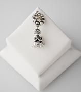 Ref.: 00110  Charm coleccion angeles, plata925 y zircon