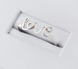Ref.: 00169  Anillo plata 925 Love