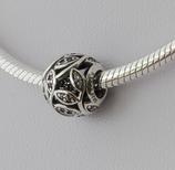 Ref.: 00138  Charm en plata 925 y zircon