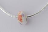 Ref.: 00135  Charm de cerámica y centro de plata