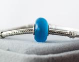 Ref.: 00210 Charm ojo de gato color azul
