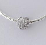 Ref.: 00114 Charm de plata 925 y zircon