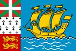 Saint-Pierre and Miquelon Flag
