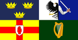 Irish Four Provinces Flag