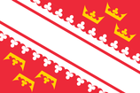 Alsace Region Flag