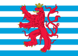 Luxembourg Civil Ensign Flag