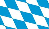 Bavaria-Bayern State Flag (Lozengy)
