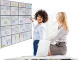 Scrum-Board Magnete für Whiteboard 120 x 90 / 150x100 / 180x120