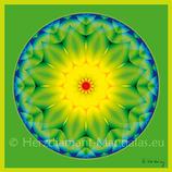 """14 - Mandala-Karte """"Herzensliebe"""""""