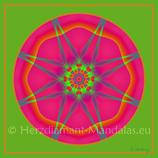 """27 - Mandala-Karte """"Kosmische Wissensspeicher haben sich geöffnet"""""""